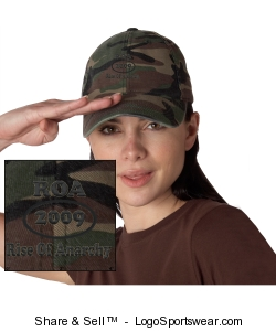 Flex Fit Low Profile Camouflage Cap Design Zoom